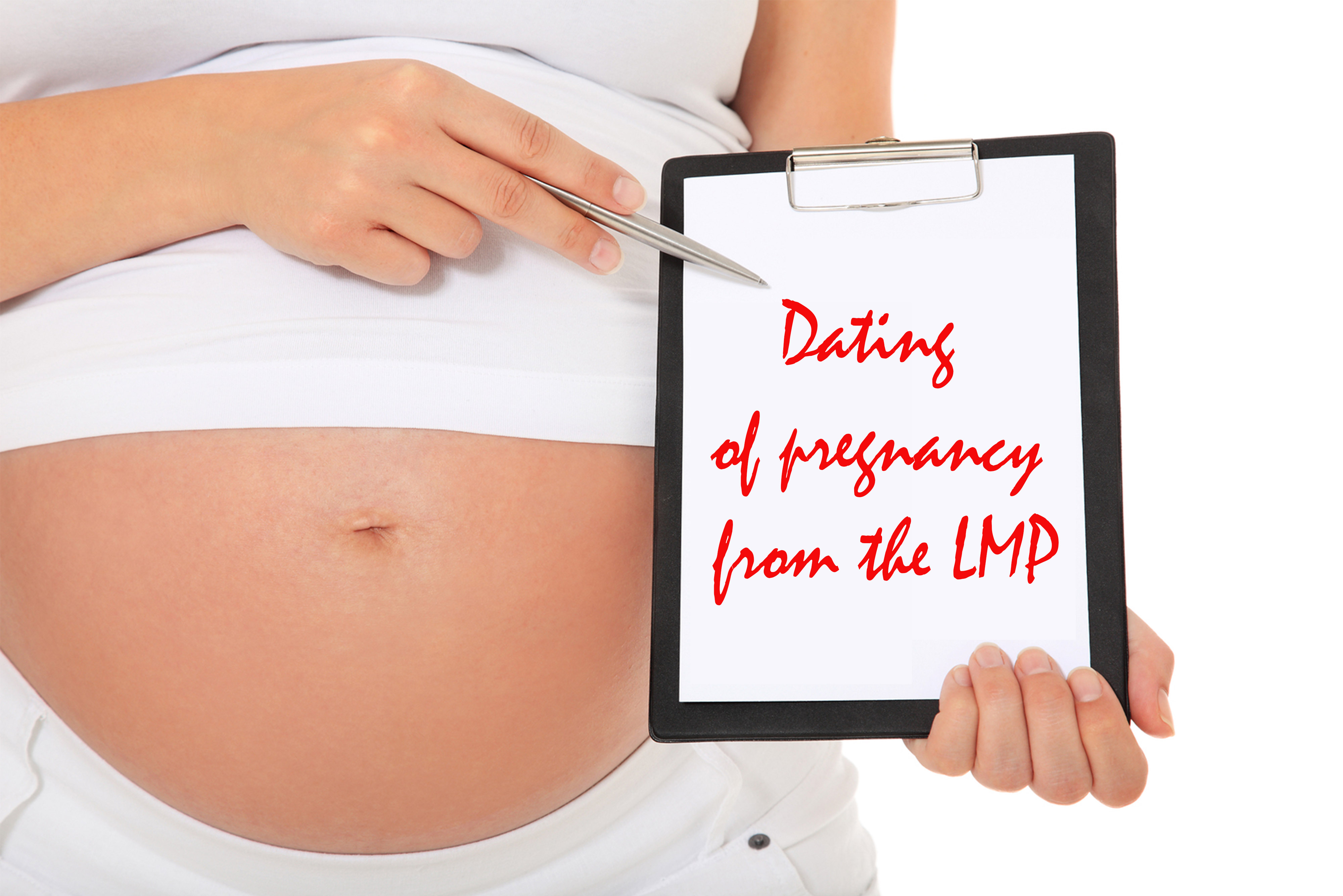 DATING OF PREGNANCY FROM THE LAST MENSTRUAL PERIOD (LMP)